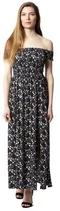 M&Co Izabel ruched floral maxi dress