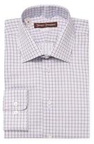 Hickey Freeman Printed Classic Fit Dress Shirt