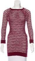 Isabel Marant Open Knit Long Sleeve Top