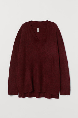 H&M Oversized Sweater - Red