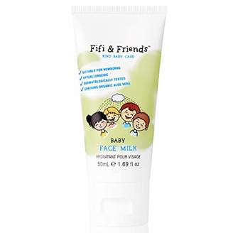 Alöe Fifi & Friends Baby Face Milk for Baby & Child, with Organic Vera, Natural Ingredients, 50ml