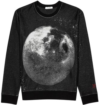 Valentino Moon Dust black cotton jumper