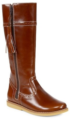 Elephantito Girl's Patent Leather Riding Boots