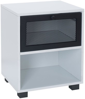 Lloyd Pascal Toby Locker Style1 Drawer Bedside Table