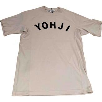 Y-3 Beige Cotton Top for Women