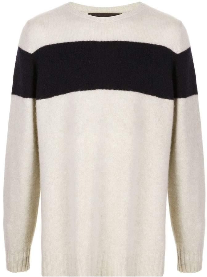 1b523969564 Striped Racing cashmere sweater