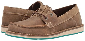Ariat Cruiser Castaway (Brown Bomber) Women's Slip on Shoes