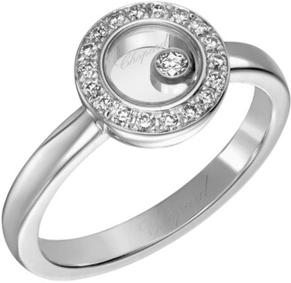 Chopard White Gold Happy Diamonds Icons Ring