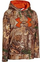 Under Armour Big Boys' Armour® Fleece Camo Big Logo Hoodie Youth Large REALTREE AP-XTRA
