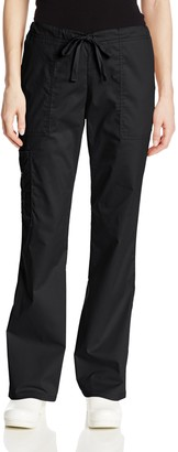 Cherokee Women's Tall Workwear Scrubs Core Stretch Drawstring Cargo Pant (2X-Tall)