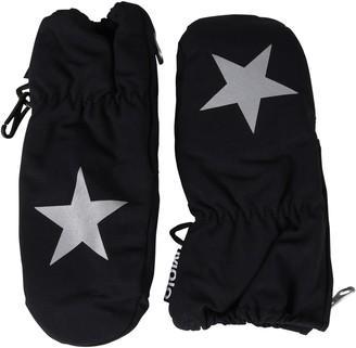 Molo Black Snow Gloves For Kids