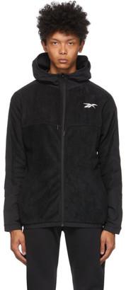 Reebok Classics Black Fleece Zip Track Jacket