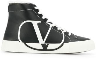 Valentino VLOGO printed sneakers