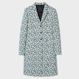 Paul Smith Women's Cream Floral-Jacquard Epsom Coat
