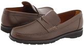 a. testoni Penny Loafer Mocassin Men's Slip on Shoes
