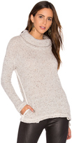 Splendid Double Face Loose Knit Pullover