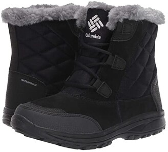 Columbia Ice Maidentm Shorty (Black Grey) Women's Cold Weather Boots