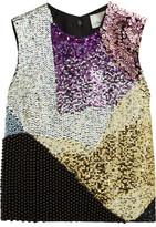 3.1 Phillip Lim Embellished Wool Top
