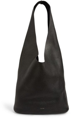 The Row Leather Bindle Three Hobo Bag