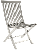 Slatted Folding Chair