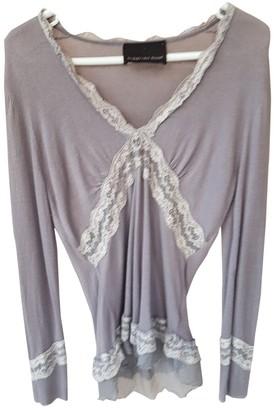 Ermanno Scervino Purple Cashmere Top for Women