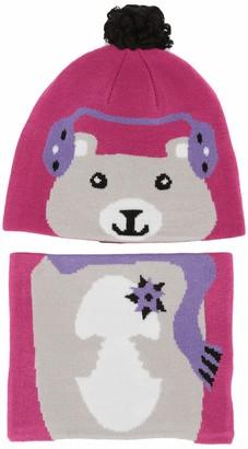 Columbia Kids' Toddler Snow More Hat and Gaiter Set