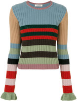 Valentino striped sweater - women - Cashmere/Virgin Wool - XS