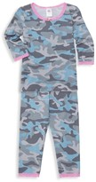 Esme Little Girl's & Girl's Two-Piece Camouflage Pajama Set