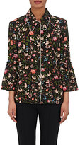 Erdem Women's Aran Floral Silk Pajama Top