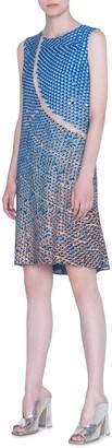 Akris Punto Solar Pants Print Shift Dress