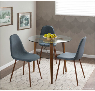 Lumisource Set Of 2 Pebble Dining Chairs