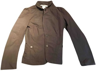 Humanoid Brown Cotton Jacket for Women