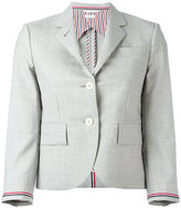 Thom Browne two button blazer - women - Silk/Wool - 40