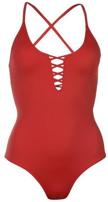 Dorina Bora Bota Deep V Swimsuit Womens