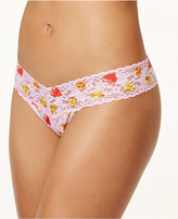 Hanky Panky Love Note Low-Rise Lace Thong 5R1586