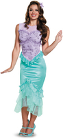 Disguise Disney Princess Ariel Classic Costume - Adult