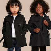 Burberry The Wiltshire - Heritage Trench Coat , Size: 18M, Black