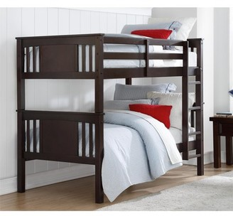 Better Homes & Gardens Better Homes and Gardens Flynn Twin Bunk Bed, Espresso