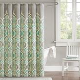"Madison Park Nisha Paisley Shower Curtain - Teal/72"" x 72"""