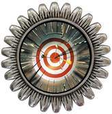 GiftJewelryShop Ancient Style Silver Plate Olympics Archery target multi arrows Sunflower Pins Brooch