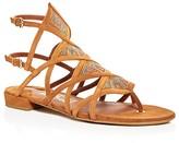 Salvatore Ferragamo Essie Embellished Caged Sandals
