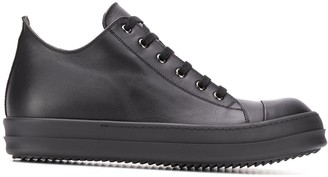 Rick Owens Tonal Low-Top Sneakers