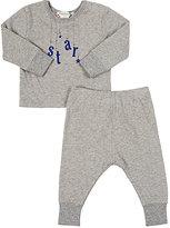 """Bonpoint Star"""" T-Shirt & Pants Set-GREY"""
