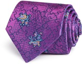 Turnbull & Asser Paisley Puzzle Classic Tie