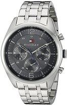 Tommy Hilfiger Men's 1791185 Sophisticated Sport Analog Display Quartz Silver Watch