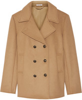 Tomas Maier Double-breasted Wool-blend Coat - Camel