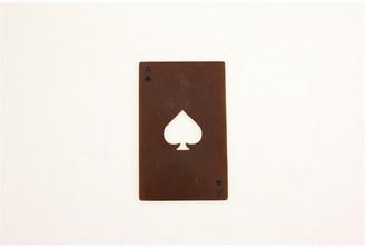 Indigo Copper Finish Ace of Spades Card Bottle Opener