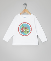 Swag White Ornament Personalized Tee - Toddler & Girls
