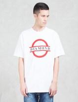 Diamond Supply Co. Tube Logo S/S T-Shirt