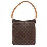 Louis Vuitton excellent (EX Brown Monogram Canvas Looping GM Large Shoulder Bag